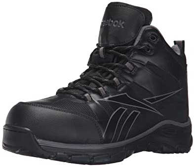 Reebok Work Men's Arion Rb4513 Industrial and Construction Shoe, Black, ...