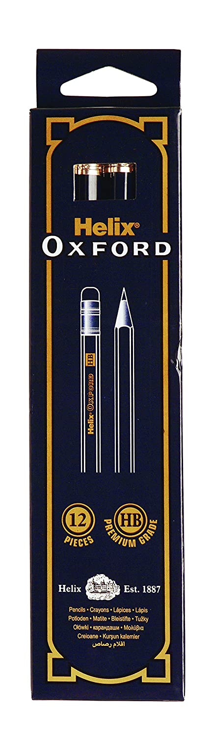 Helix Oxford HB Pencils (Pack of 12) Helix Trading Limtied P35010