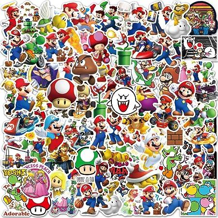 Super Mario Stickers Video Game Cartoon Stickers