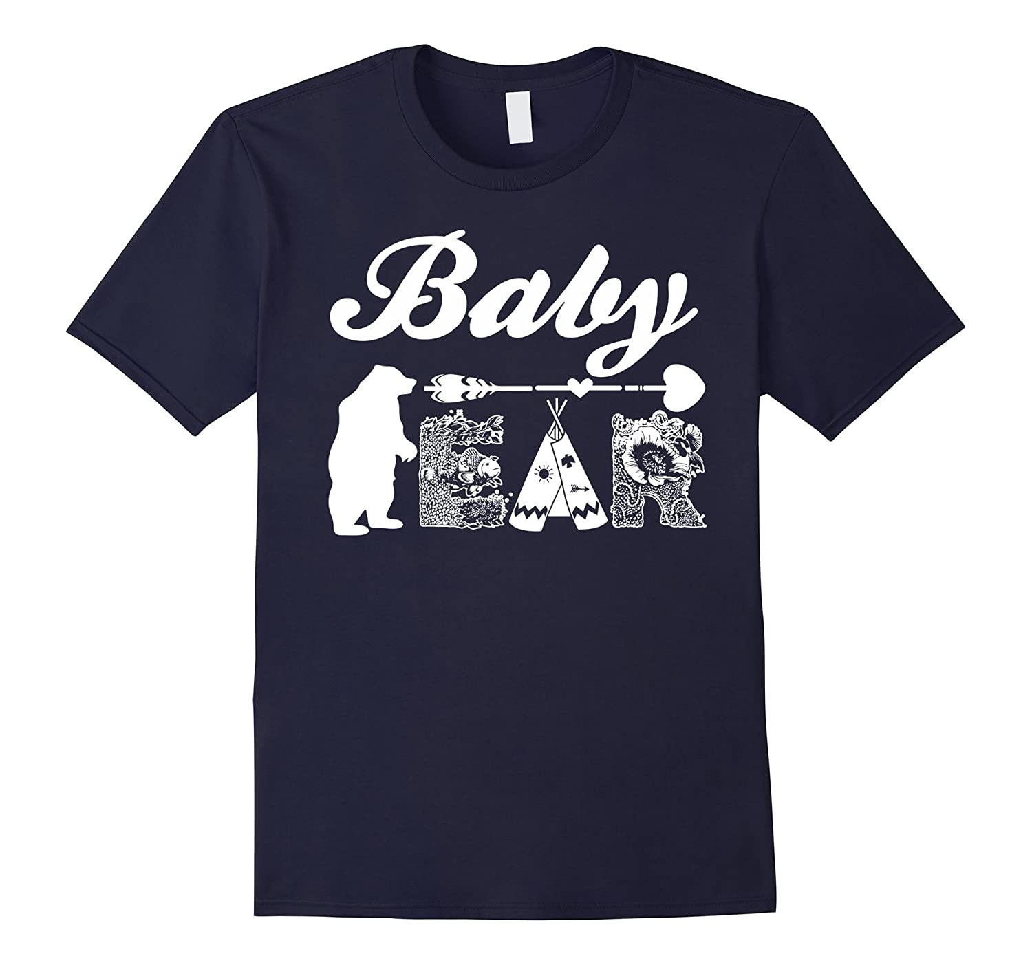 Baby Bear Matching Family Funny Gift T-Shirt-CD