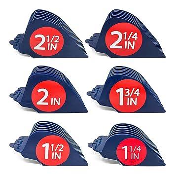 Clipquik Premium XL Clipper Guards, Strong & Sturdy 2.5 inch, 2.25