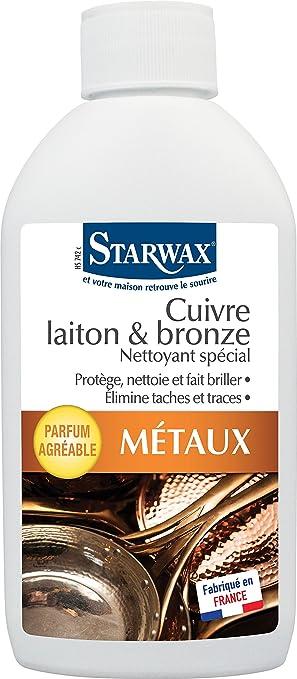 Starwax Limpiador para cobre, latón y bronce, 250 ml: Amazon.es ...