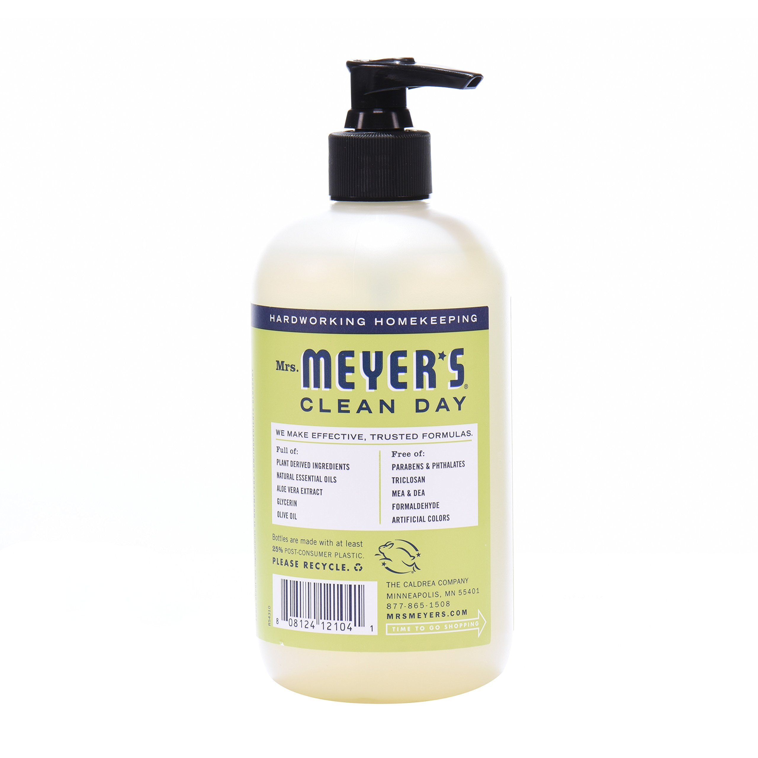 Mrs. Meyer's Clean Day Kitchen Basics Set, Lemon Verbena, 3 ct: Dish Soap (16 fl oz), Hand Soap (12.5 fl oz), Multi-Surface Everyday Cleaner (16 fl oz) by Mrs. Meyer's Clean Day (Image #9)