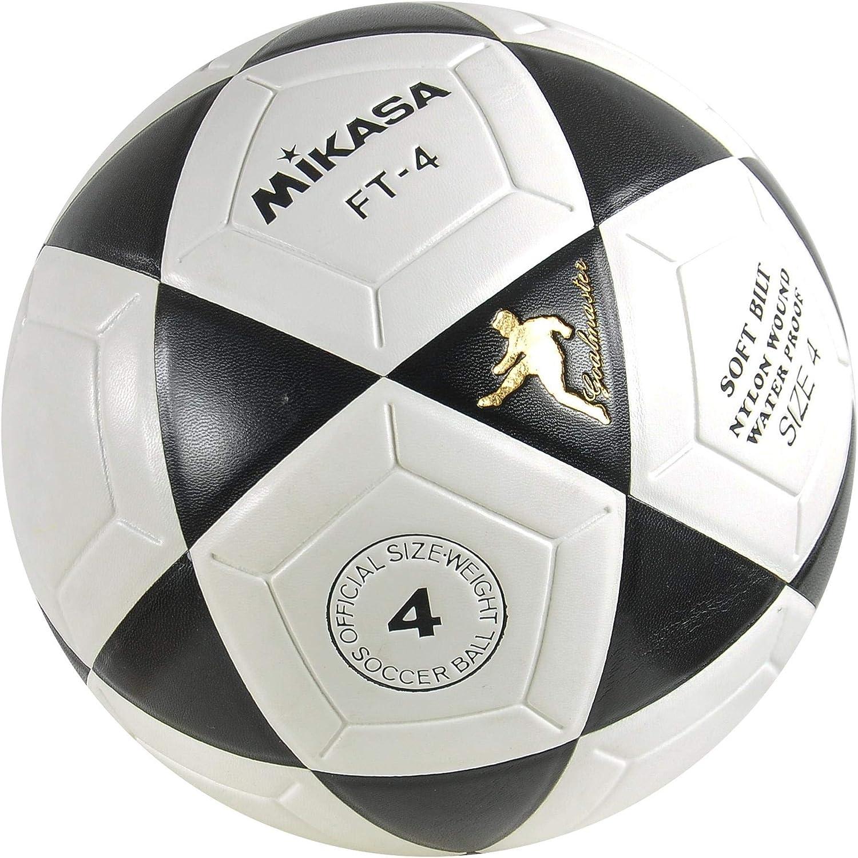 Amazon.com: Mikasa FT4 Goal Master - Balón de fútbol (talla ...