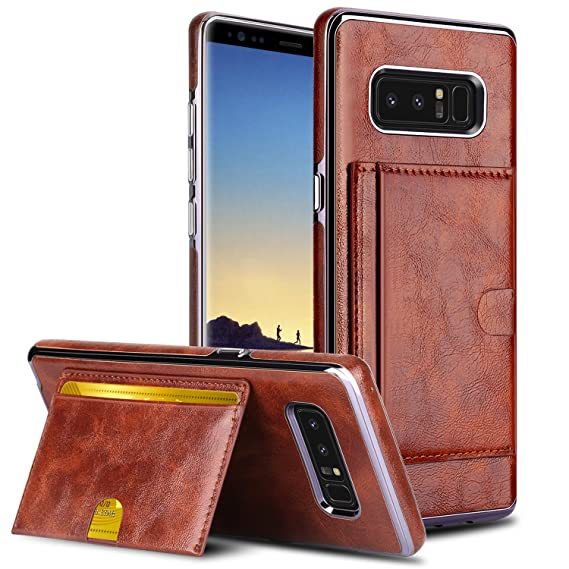 brand new 1262b f407a Galaxy Note 8 Wallet Case, Galaxy Note 8 Card Holder Case, Venoro PU  Leather Wallet Case Cover with Card Slot Cash Pocket and Kickstand  Protection ...