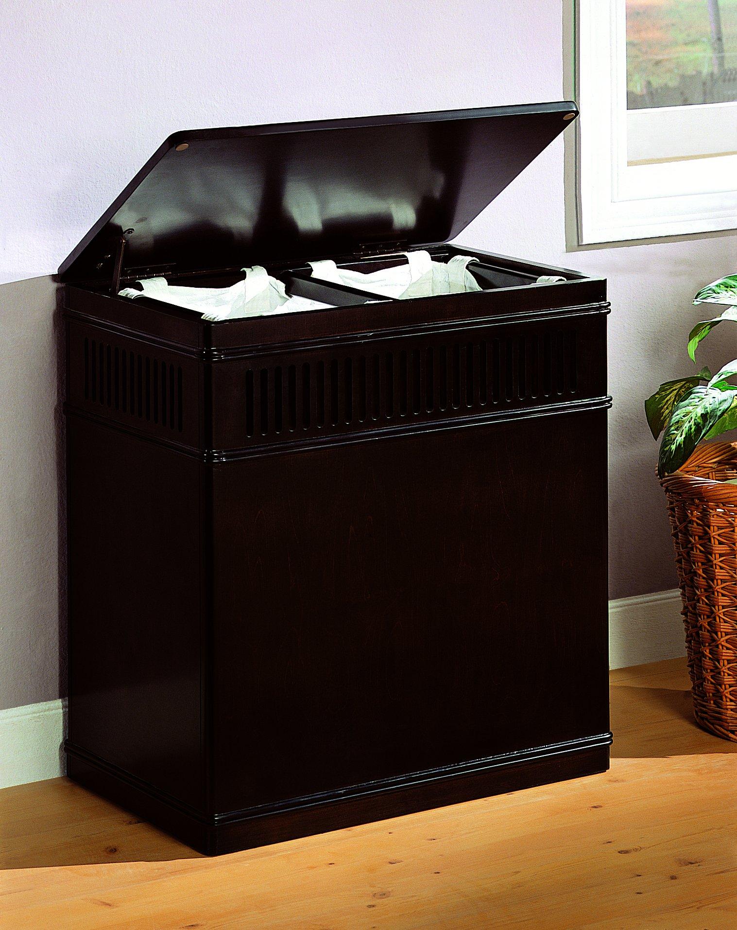 Coaster Home Furnishings Laundry Hamper, Cappuccino by Coaster Home Furnishings (Image #2)
