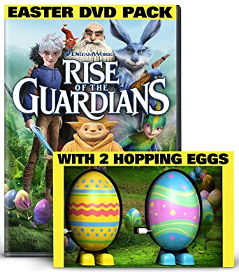 Amazon rise of the guardians limited edition easter gift rise of the guardians limited edition easter gift pack dvd 2 hopping toy negle Choice Image