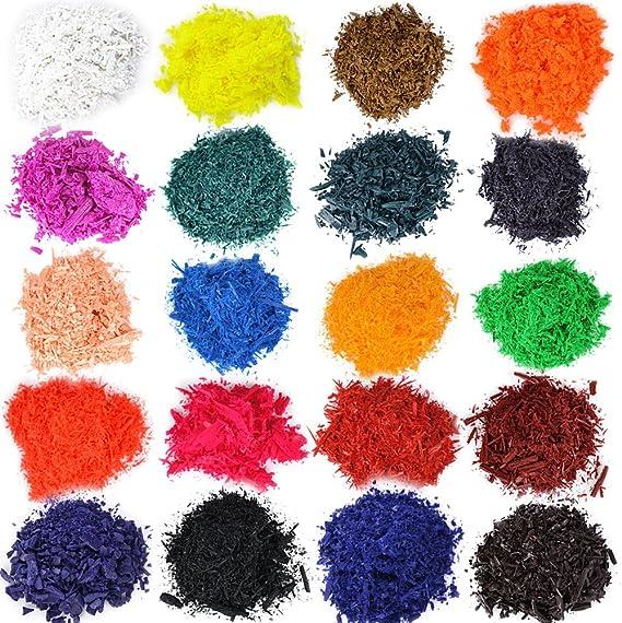 20 pcs Colorantes para Velas Tintes para Velas de Parafina Cera Soja 20 Colores Fabricación de Velas DIY Artesanía Manualidad