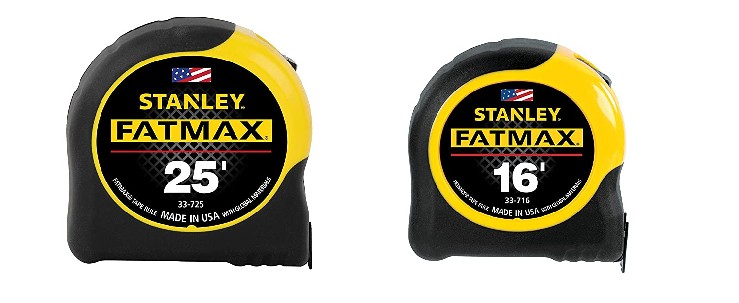 Stanley 70 455A 25' 16' Value Pack Tape Measurers