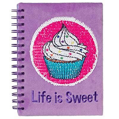 3C4G Cupcake Magic Sequin Journal (36043): Office Products