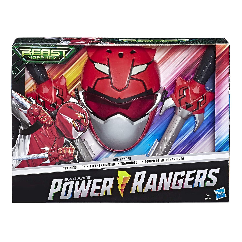 Power Rangers Beast Morphers Coffret Dague et Masque du Ranger Rouge