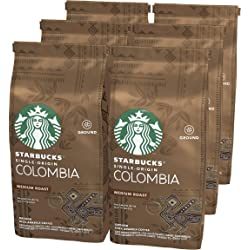 Starbucks Single-Origin Colombia Café (6 bolsas)