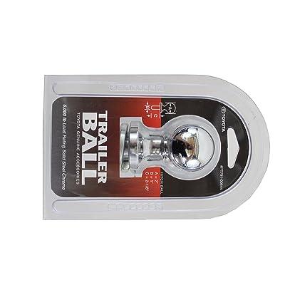 Genuine Toyota Parts - Trailer Ball (PT791-00844): Automotive