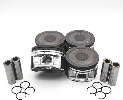 Head Gasket Toyota 2.4 2RZFE Crankshaft with bearings 1 Rod  94-04 Rings set