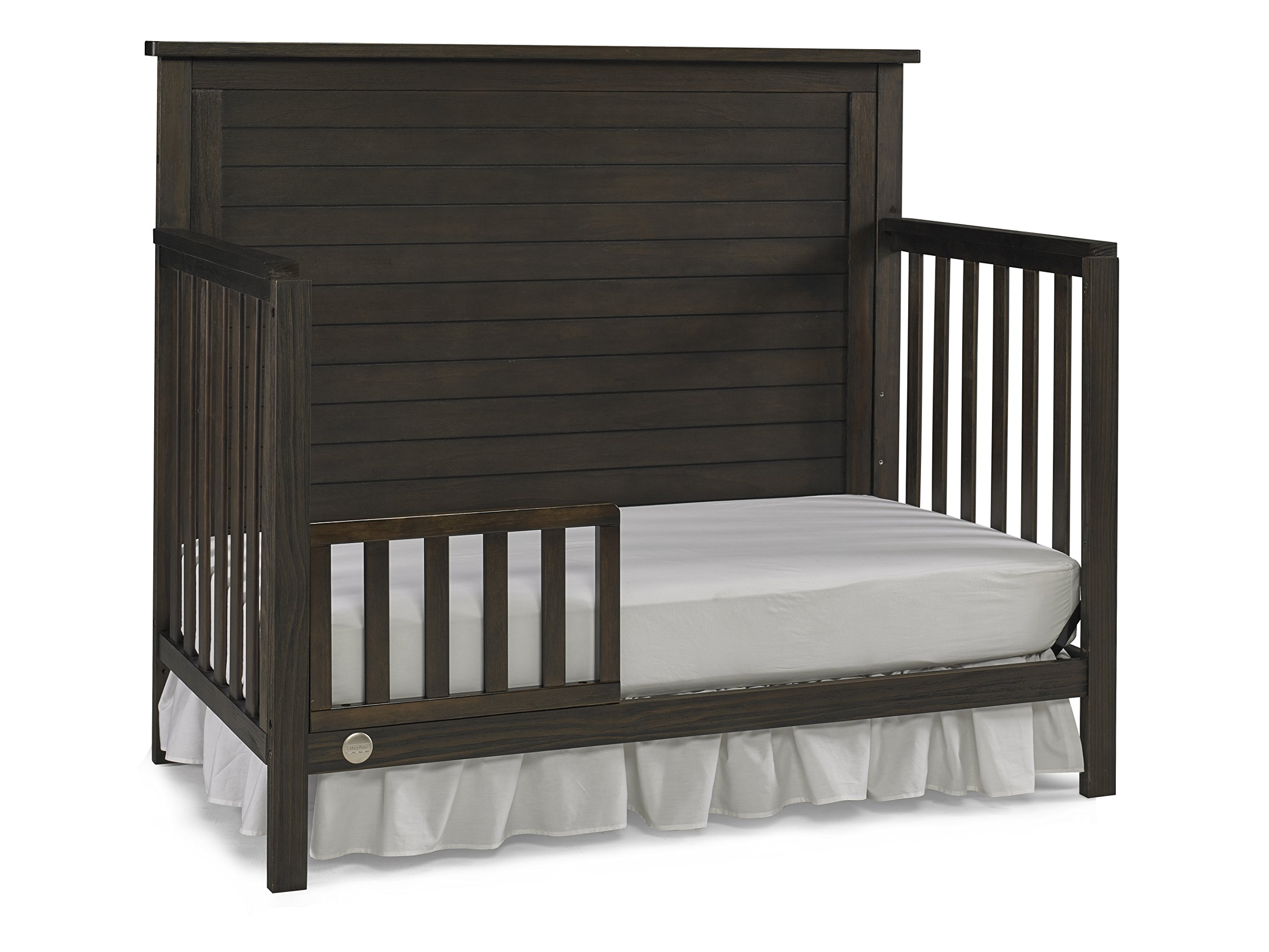 Fisher-Price Quinn 4 in 1 Convertible Crib, Wire Brushed Brown by Fisher-Price (Image #6)