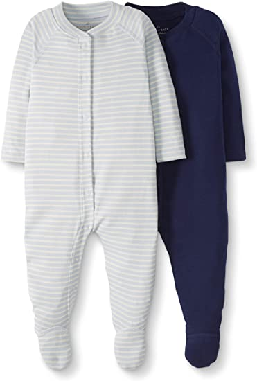 Moon and Back Baby One Piece Footless Pajamas