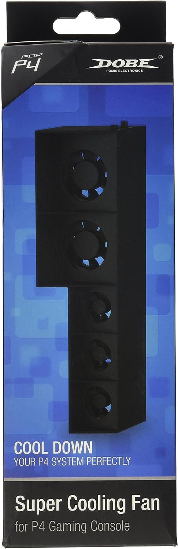 Dobe - Ventilador de refrigeración para consola PS4 Playstation 4
