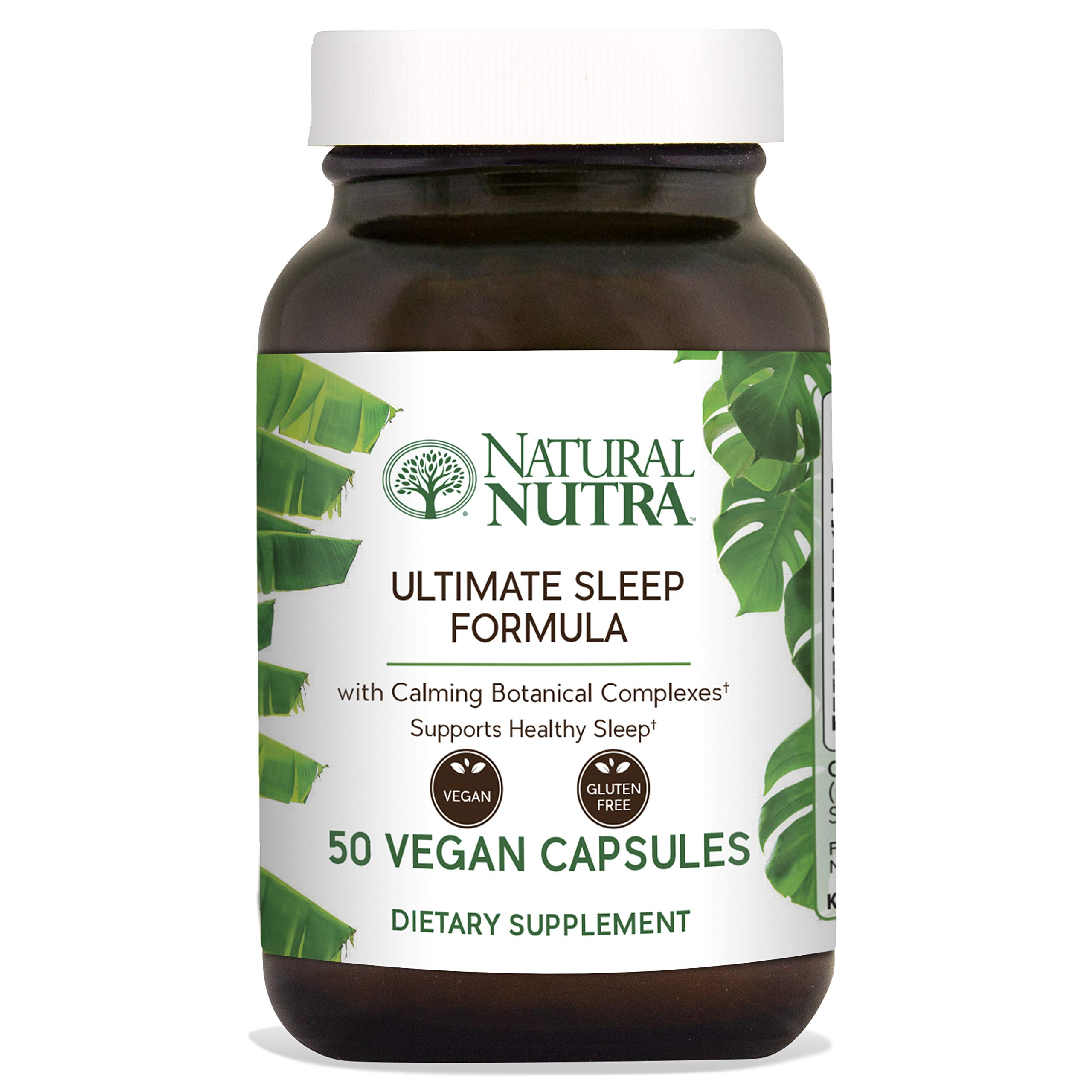 Natural Nutra Ultimate Sleep Formula, Natural, Herbal and Vegan Sleep Aid with L Theanine