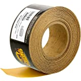"""Dura-Gold - Premium - 220 Grit Gold - Longboard Continuous Roll 20 Yards Long by 2-3/4"""" Wide PSA Self Adhesive Stickyback Longboard Sandpaper for Automotive and Woodworking"""
