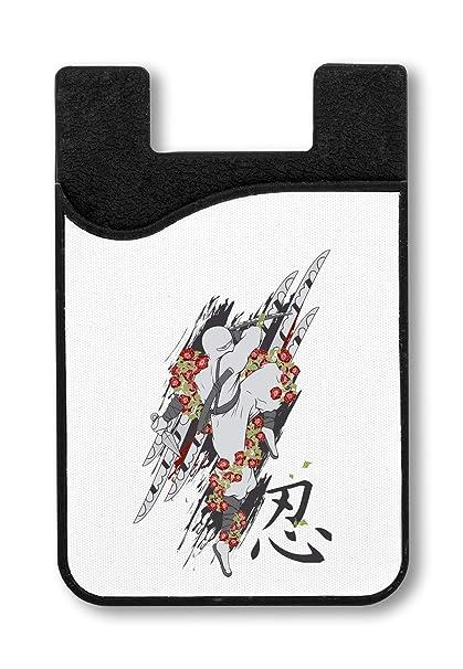 Japan Ninja Red Roses Flowers Titular de la Tarjeta de ...