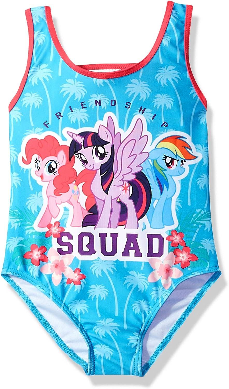 Hasbro Girls' Big Little Pony Character Swimsuit
