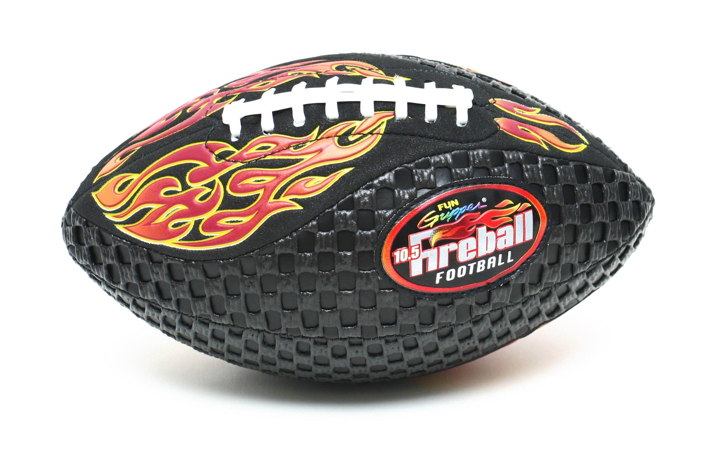 Fun Gripper Fireball 10.5 Jr (Youth) Football Orange By: Saturnian I P.E. Supplier