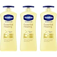 3-Pack Vaseline Essential Healing Body Lotion 20.3 Fl oz