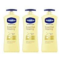 Vaseline Intensive Care Body Lotion For Dry Skin Essential Healing Clinically Proven...