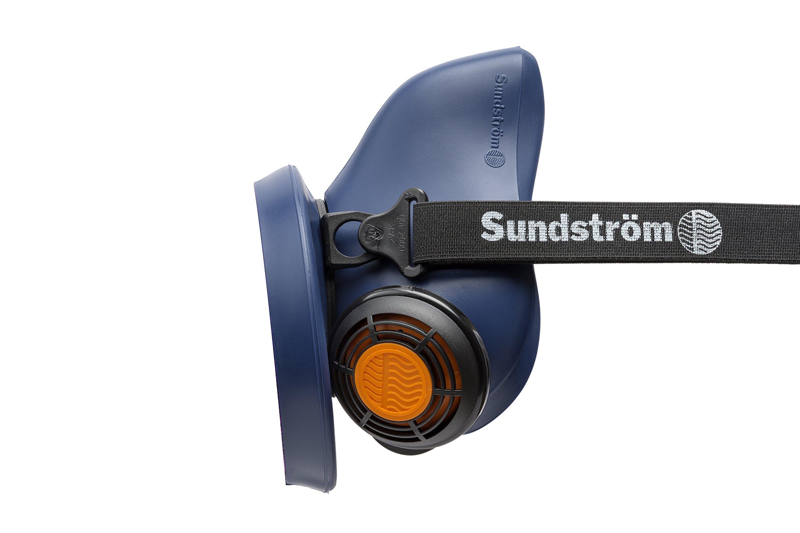 Sundstrom H01-2021 SR 100 M/L Half Mask Respirator, Silicone by Sundström
