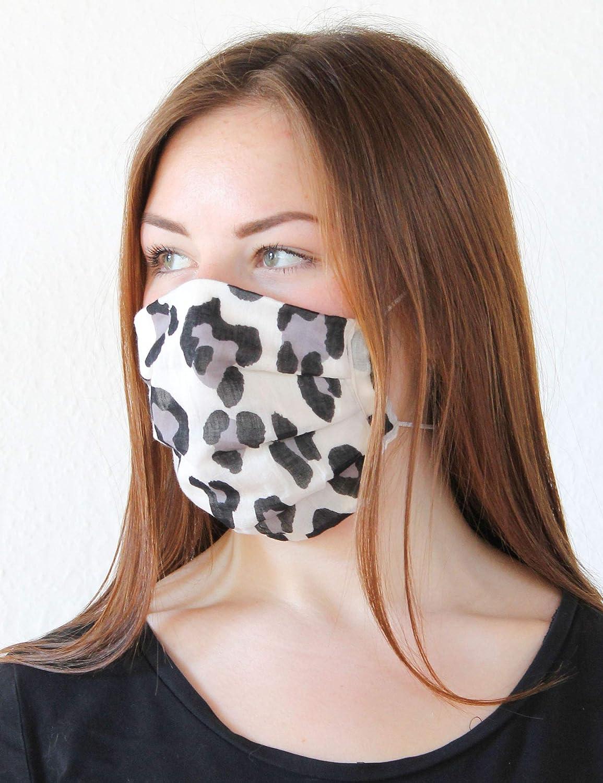 Behelfsmaske Waschbar /& Wiederverwendbar Made in Germany Viele verschiedene Styles Einheitsgr/ö/ße FRAAS Mund und Nasenmaske aus Baumwolle Unisex