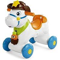 Chicco Baby Rodeo Cavallo a Dondolo, Gioco Interattivo Cavalcabile Adatto da 1 Anno, 30 x 58 x 64 cm