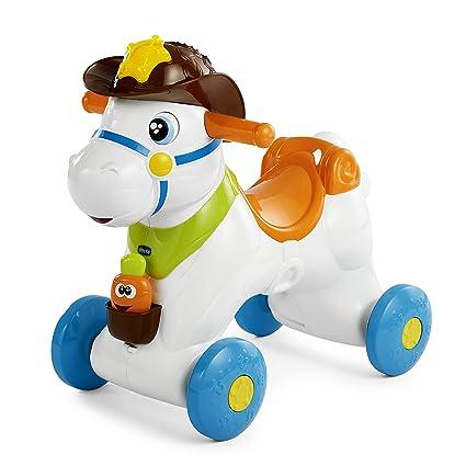 Cavallo Dondolo Chicco Prezzi.Chicco Baby Rodeo Cavallo A Dondolo Gioco Interattivo Cavalcabile Da 1 Anno
