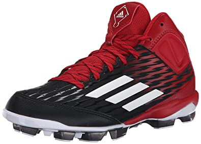adidas Performance PowerAlley 3 TPU Mid Zapatos de béisbol J