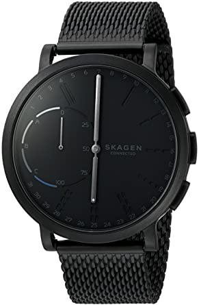 Amazon Com Skagen Connected Men S Hagen Stainless Steel Mesh Hybrid