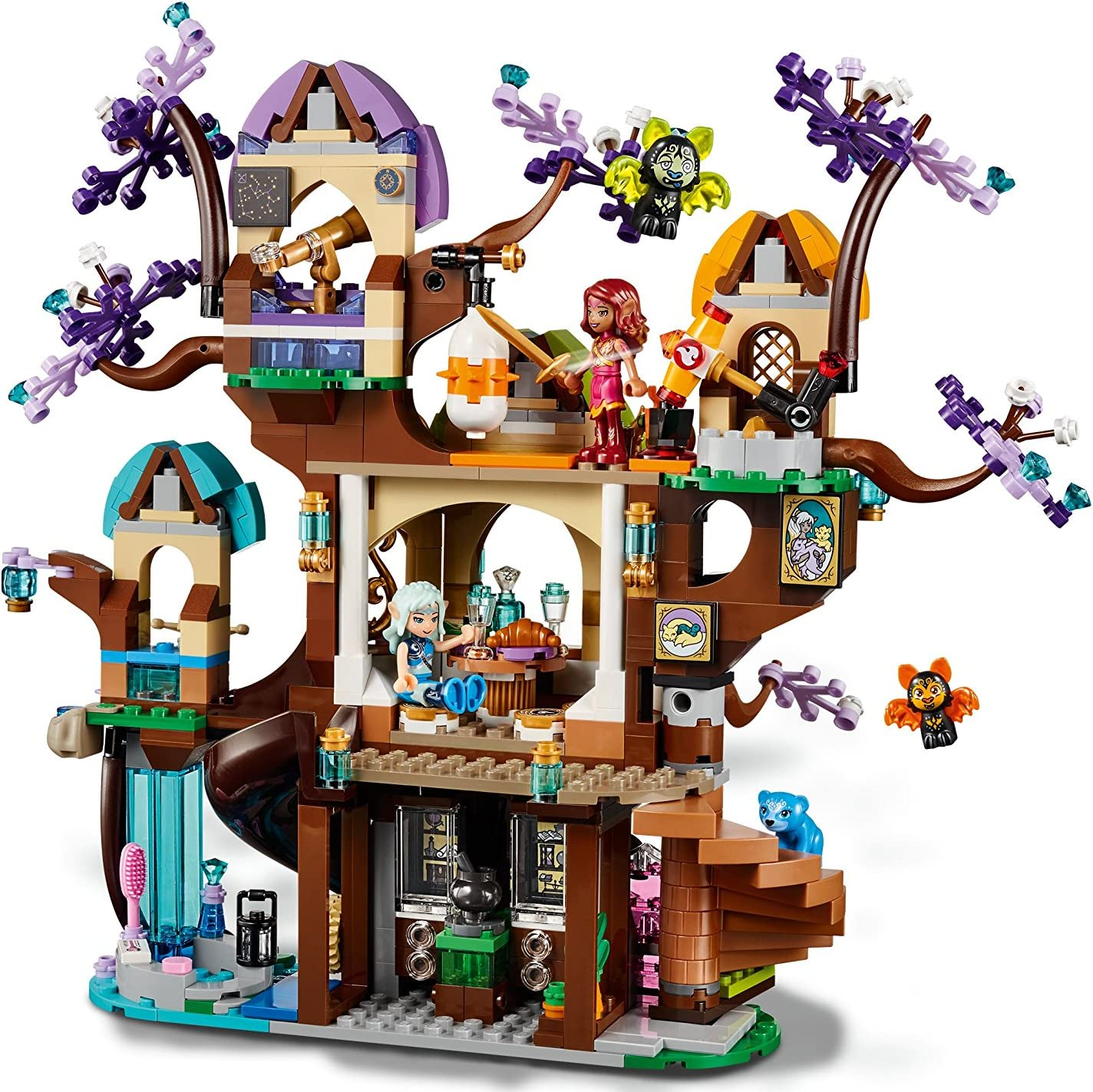 LEGO Elves Chauve-Souris-attaque sur les elfes-Sternbaum 41196