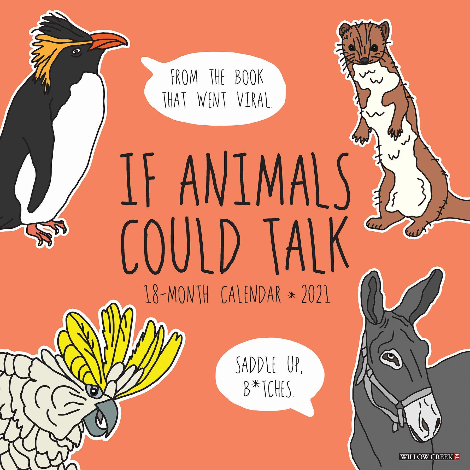Image for If Animals Could Talk 2021 Wall Calendar
