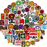 Fashion Brand Stickers for Laptop(100pcs) Graffiti Decals for Motorcycle Bicycle Skateboard Luggage Snowboard Travel Case[No-