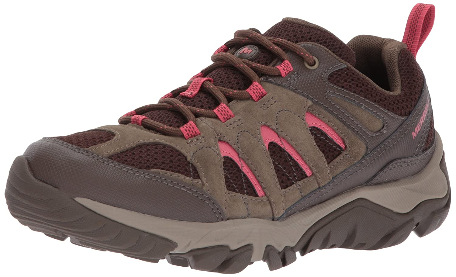 Merrell Women's Outmost Vent Hiking Boot B01N7IC1YJ 10 D(M) US|Canteen