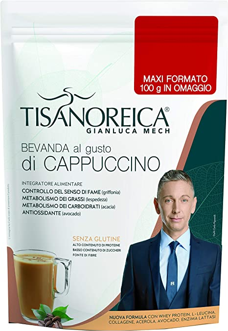 Tisanoreica Bebe Al Cappuccino 500 gr Proteína del Sérum de Leche