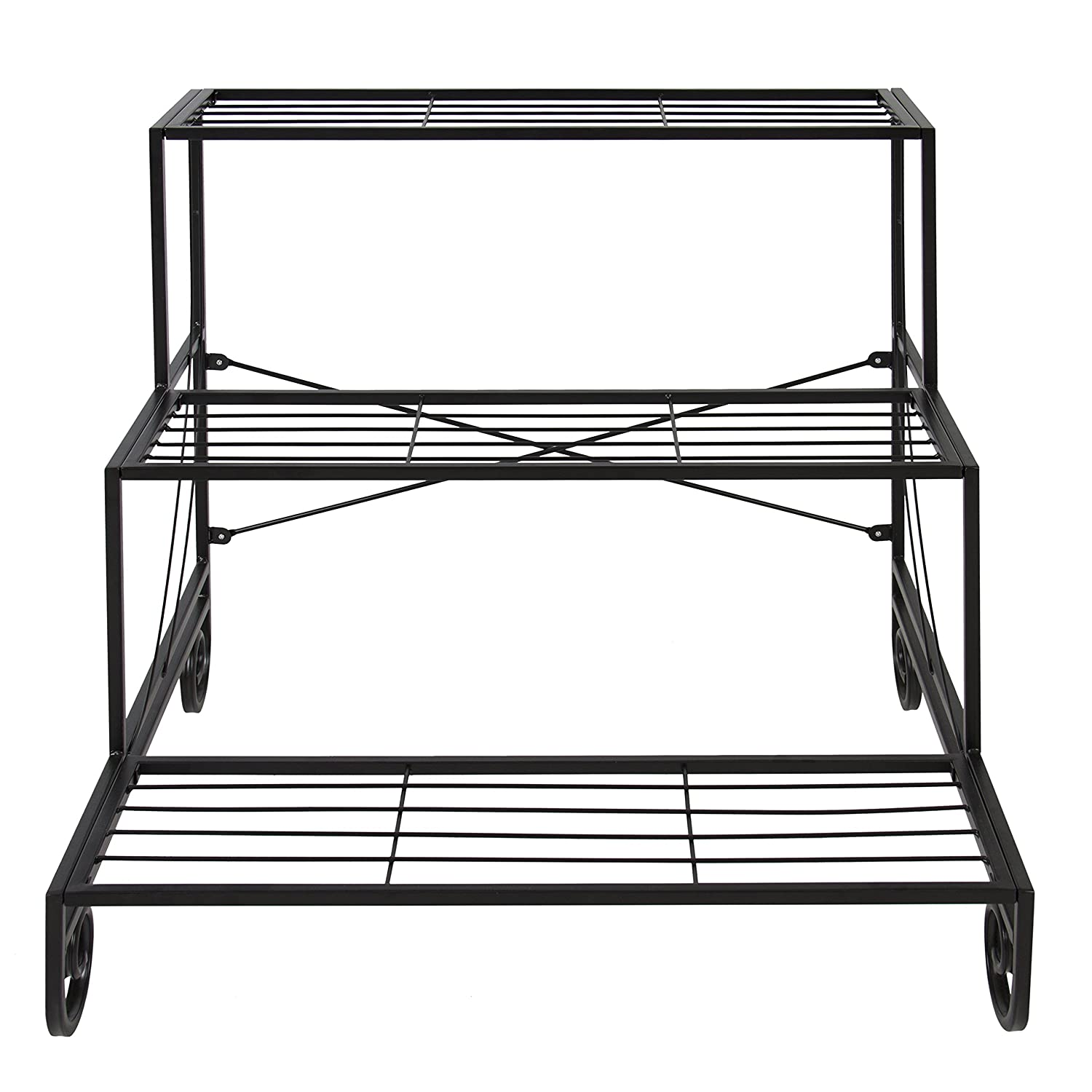 Amazon Best Choice Products 3 Tier Metal Plant Stand