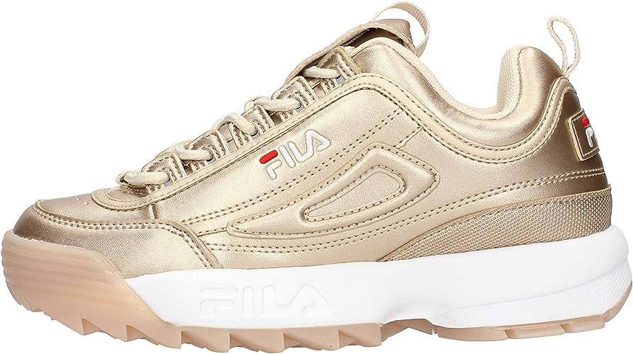 Fila Disruptor Low Silver 1010747.3VW: Amazon.co.uk: Shoes