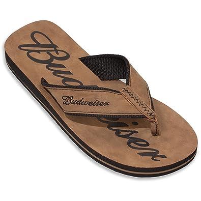 e86c7bda3083 Budweiser Men s Flip Flop Sandal
