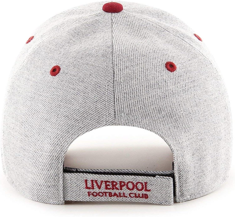 47 Brand EPL Liverpool FC Storm Cloud MVP Cap Charcoal