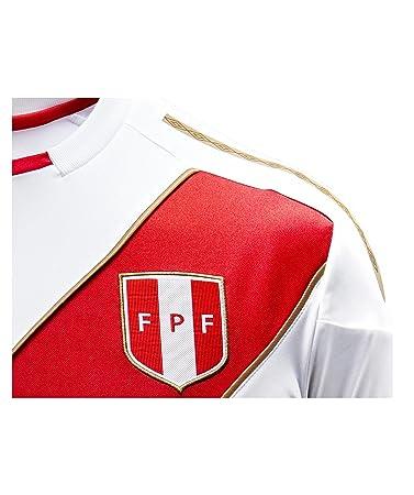 Umbro 2018-2019 Peru Home Football Shirt: Amazon.es: Deportes y aire libre