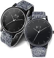 Menton Ezil Men's Sport Watch Dual Time Leather Strap Analog Quartz Waterproof Watches Auto Calendar Wrist Watch, Gift...
