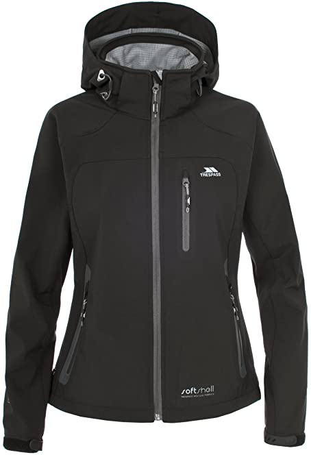 Trespass Women's Bela Waterproof Outdoor Softshell Jacket: Amazon ...
