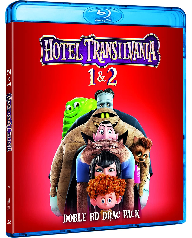 Pack: Hotel Transilvania 1 + Hotel Transilvania 2 Edición 2017 Blu ...