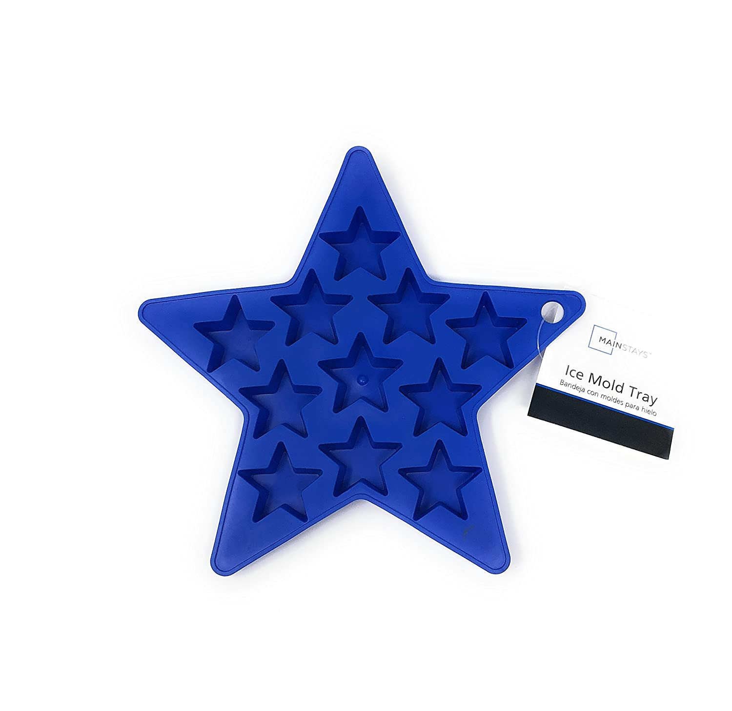Amazon.com: Silcone Ice Cube Shaped Mold Tray (Cobalt Crush Star): Kitchen & Dining