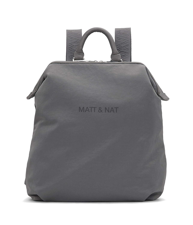 Matt & Nat レディース バックパック Dublin B07N9RL25H グレー