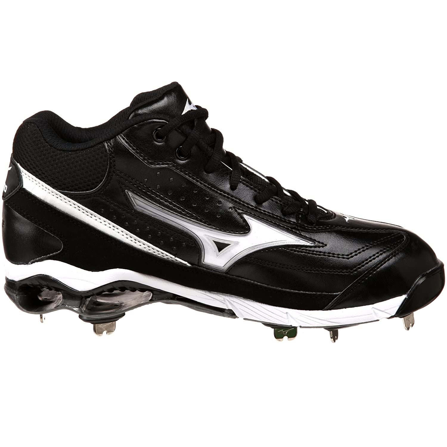 Amazon.com | Mizuno Men's 9-Spike Classic G6 Mid Switch Baseball Cleat |  Baseball & Softball